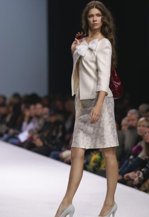 Natalia Slavina Moscow fashion week photo